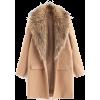 faux fur jacket - Jacken und Mäntel -