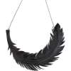 Feather Necklace - Necklaces - $55.00
