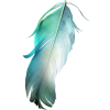 Feather Blue - 饰品 -