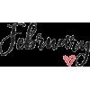 february - Teksty -