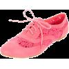Flats Pink Flats - Flats -