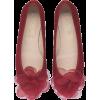 floral ballerinas - Balerinki -