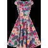 floral dress - Vestidos -