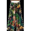 floral pants - Capri & Cropped -