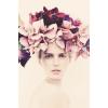 floral portrait - Люди (особы) -