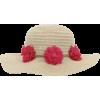floral straw hat - Šeširi -