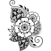 floral vector illustration - Illustrations -