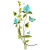 Flower Blue Plants - Piante -