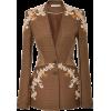 flower blazer1 - Suits -
