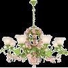 flower chandelier  - Furniture -