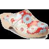flower clog - Platformy -