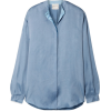 forte_forte Washed-satin shirt - Long sleeves shirts -