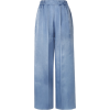forte_forte Washed-satin wide-leg pants - Capri & Cropped -