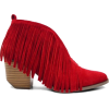 fringe ankle boots - Boots -