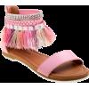 fringe sandals - Sandals -