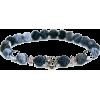 frosted agate bracelet RubysCharms Etsy - Bransoletka -