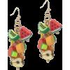 fruit earrings - 耳环 -