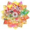 full colorful yellow mandela - Articoli -
