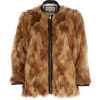 Fur Jacket - Jacket - coats -