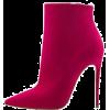 fuscia boots - Boots -