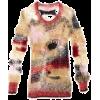 fuzzy sweater - Puloverji -