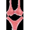 gingham bikini - Swimsuit -