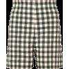 gingham shorts - Shorts -