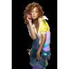 Girl Colorful - People -