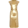 Dresses Gold - sukienki -