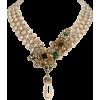 Necklaces Beige - Necklaces -