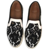 givenchy moccasin in black and white - Moccasins -