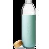 glass water bottle - Beverage -