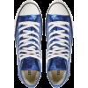 Glitter Blue Allstars - Tenis -