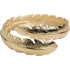 Gold Feather Ring - Rings - $52.00
