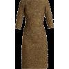 gold Oscar de la Renta dress - sukienki -