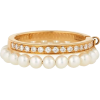 gold and pearl ring - Pierścionki -