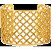 gold bracelet cuff - Bracelets -