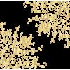 gold corner art frame - フレーム -