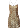 gold dress - Vestidos -