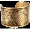 golden astronomy cuff on Etsy - Braccioletti -