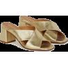 golden sandals1 - Sandalias -