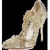 golden shoes2 - Sapatos clássicos -