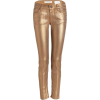 gold jeans - Jeans -