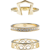 gold ring set - Rings -