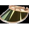 gold visor - Gorro -