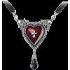 gothic pendant necklace - Naszyjniki -