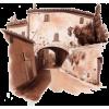 Građevine Buildings Beige - Gebäude -