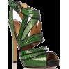 green heels - Sandals -