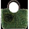 green straw bag - 手提包 -