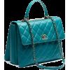 green bag - Hand bag -
